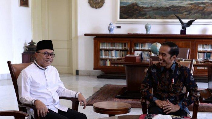Ketua MPR RI Temui Presiden Jokowi, Ajak Selesaikan Masalah Pemilu dengan Damai dan Dialog