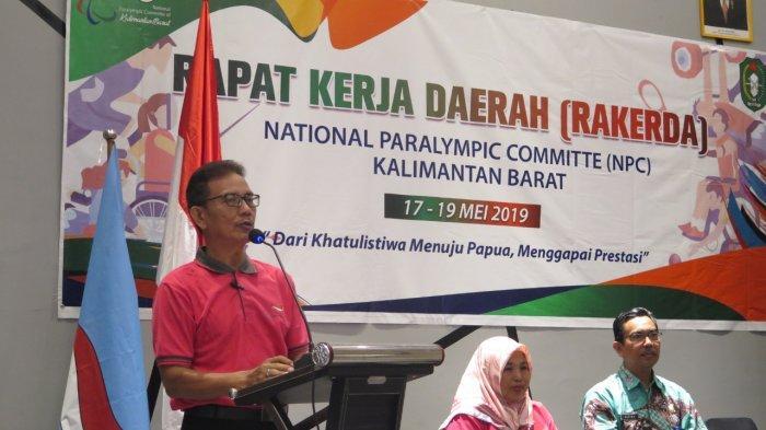 Gelar Rakerda, NPC Kalbar Persiapkan Diri Menuju Peparnas Papua dan ASEAN Para Games 2020