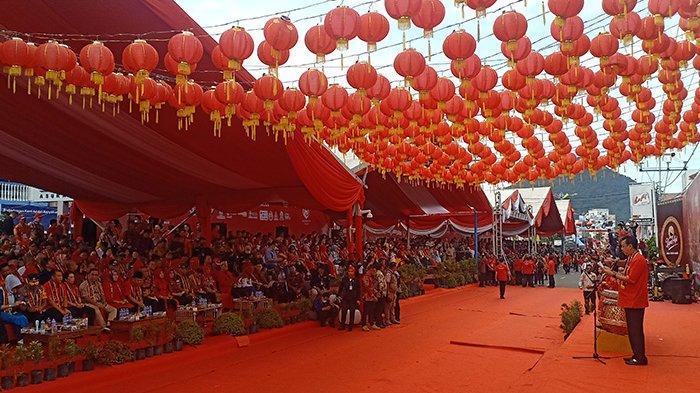 847 Tatung, Naga, Barongsai dan Seni Budaya Meriahkan Cap Go Meh Singkawang