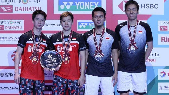 Jadwal Live Badminton Olimpiade Tokyo TVRI dan Live Streaming Vidio! Marcus/Kevin di Grup A