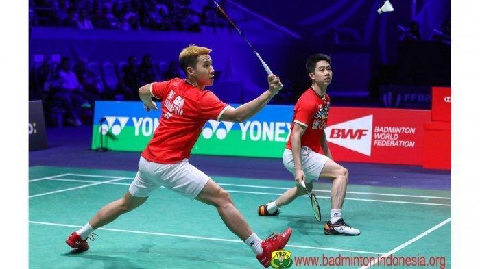 Live Streaming Fuzhou China Open 2019, Marcus/Kevin Lawan Wakil Malaysia Mulai Jam 15.00 WIB