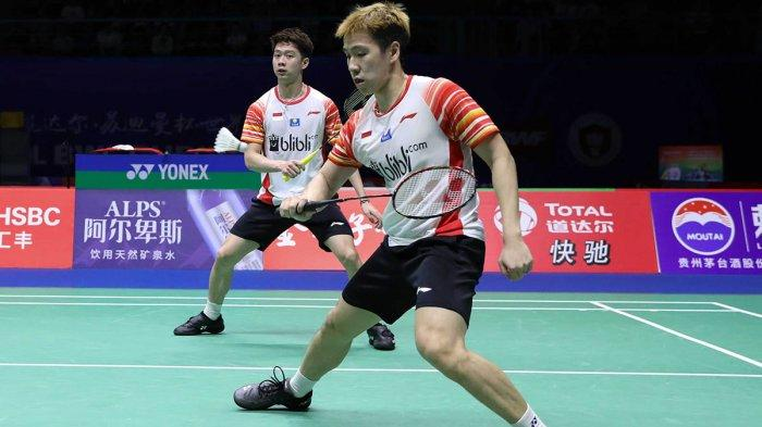 Line Up Indonesia Vs Jepang Sudirman Cup 2019, Marcus/Kevin Vs Takeshi Kamura/Keigo Sonoda