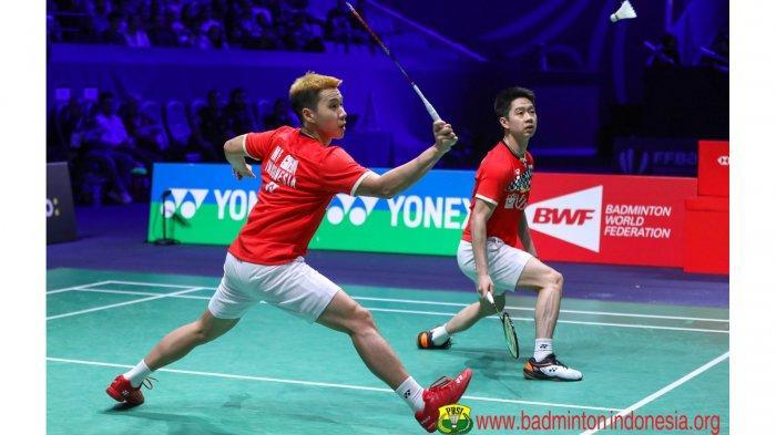 SEDANG LIVE, Streaming Marcus/Kevin vs Kamura/Sonoda   Hasil Via Live Score Final China Open 2019