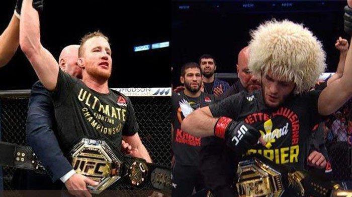 Jadwal UFC 254 Khabib Vs Justin Gaethje, Rekor Pertarungan Khabib Nurmagomedov Sempurna di Oktagon