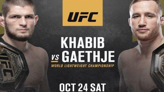 Duel Khabib VS Justin Gaethje Link Live Streaming & Jam Tayang UFC 254 The Eagle Vs The Highlight