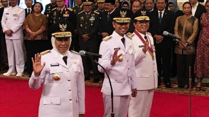 Sah!  Khofifah Indar Parawansa dan Emil Dardak Gubernur dan Wakil Gubernur Jatim