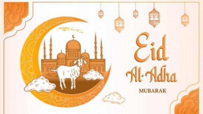 Kumpulan Gambar Ucapan Hari Raya Idul Adha 1442 Hijriyah Selasa 20 Juli 2021