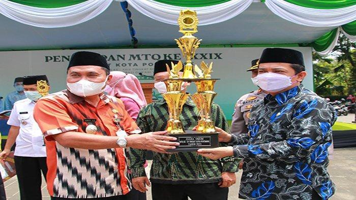 Kafilah Pontianak Timur Juara Umum MTQ tingkat Kota, Camat Harap Berlanjut ke Tingkat Provinsi