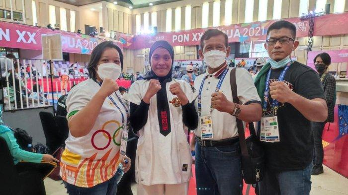 Kontingen Kalimantan Barat Klaster Mimika Tambah Dua Medali PON XX Papua