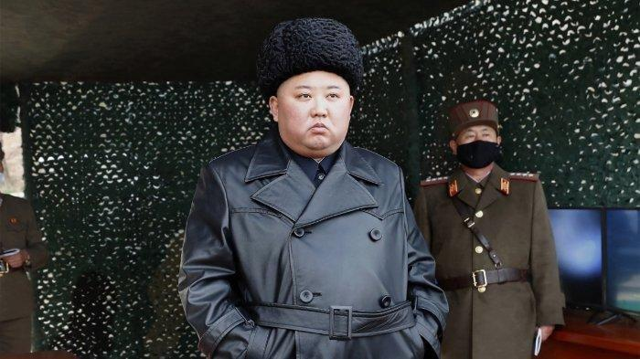 Kim Jong Un Ngotot Negaranya Bebas Virus Corona, Korea Utara Kepergok Lembur Bangun Rumah Sakit Baru