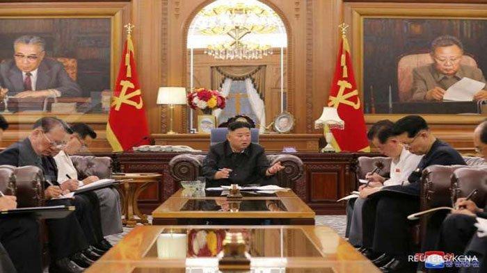 KIM Jong Un Mendadak Ganti Pejabat Senior Pemerintah Korea Utara, Korut Terancam Bencana Covid-19 ?