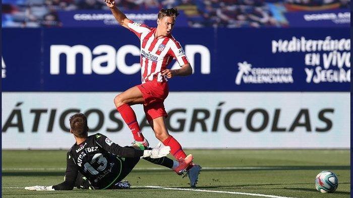 Hasil Levante vs Atletico Madrid Bawa Skuat Simeone ke Posisi Tiga Klasemen Liga Spanyol La Liga