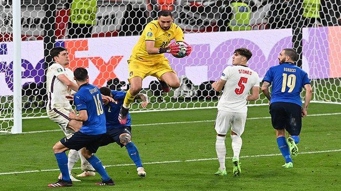 HASIL AKHIR Italia Vs Inggris Tadi Malam & Rekap Hasil Pinalti Inggris Vs Italia, Italia Juara Euro