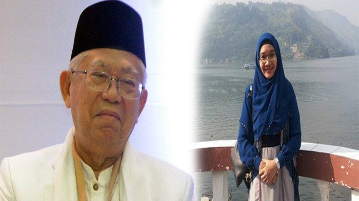 KH Maruf Amin dan Wury Estu Handayani
