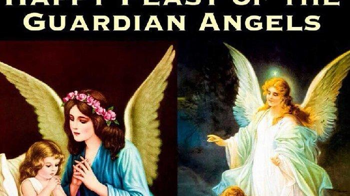 Kisah Orang Kudus Katolik 2 OktoberPesta Para Malaikat Pelindung danSanto Leger atau Lutgar