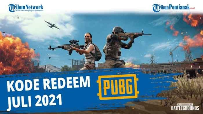 Klaim Kode Redeem PUBG 13 Juli 2021 Kode Redeem PUBG Permanen