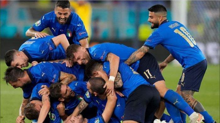 Klasemen EURO 2021 Grup A Terbaru - Italia Lolos Babak 16 Besar dan Turki Harus Angkat Koper