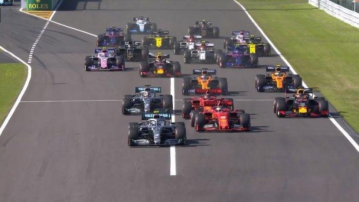 Klasemen F1 2019 Setelah GP Jepang: Mercedes Pecah Rekor Ferrari, Lewis Hamilton Menuju Juara