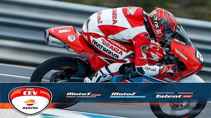 KLASEMEN FIM CEV Moto3 2021, Cek Posisi Terbaru Mario Suryo Aji Usai Hasil CEV Moto3 Valencia 2021