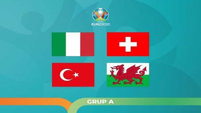 Klasemen EURO 2021 Grup A Wales Gusur Italia usai Cukur Turki, Live Score Hasil EURO Italia Vs Swiss