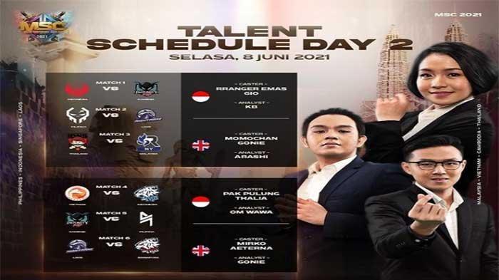 KLASEMEN Hasil MSC 2021 - EVOS Legends ke Upper Bracket dan Nasib Wakil Indonesia Bigetron Alpha