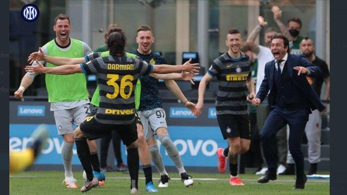 Klasemen Liga Italia 2021 Terbaru Hasil Pertandingan Tadi Malam, Inter Milan Scudetto 5 Poin Lagi