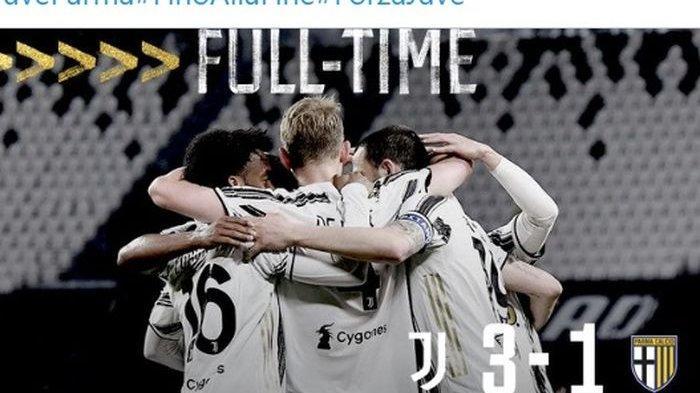 KLASEMEN Liga Italia Terbaru Usai Hasil Liga Italia Tadi Malam, Juventus Kawal AC Milan dan Inter