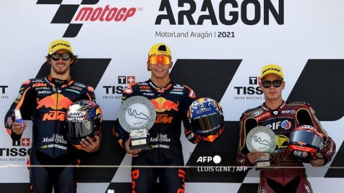 Klasemen Moto2 2021 Terbaru Usai Raul Fernandez Juara MotoGP Aragon 2021