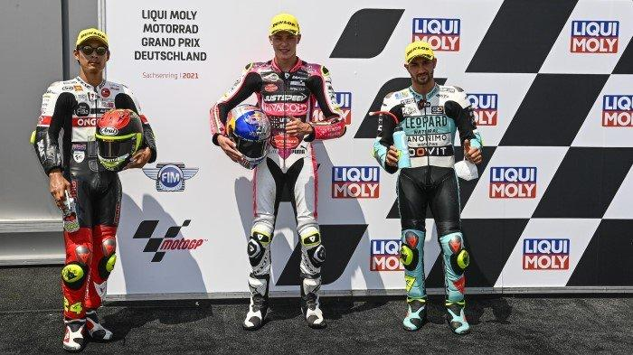 Klasemen Moto3 2021 Terbaru Hasil MotoGP Jerman 2021, Rekor Pembalap Indonesia Andi Gilang