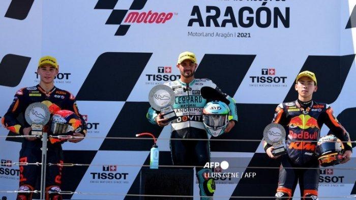 Klasemen Moto3 2021 Terbaru Hari Ini Usai Dennis Foggia Juara MotoGP Aragon 2021