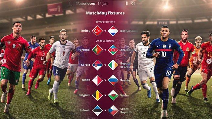 KLASEMEN Qualification Piala Dunia 2022 Hasil Bola Tadi Malam, Cristiano Ronaldo dan Lukaku Senasib