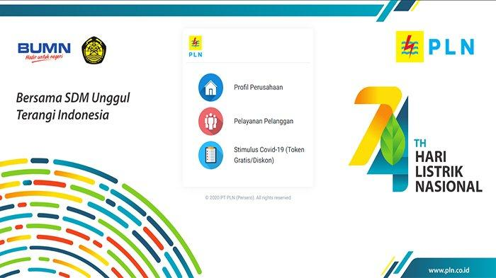 2 Cara Klaim Token Gratis Listrik Mei hingga September 2020 Login www.PLN.co.id dan WA 08122-123-123
