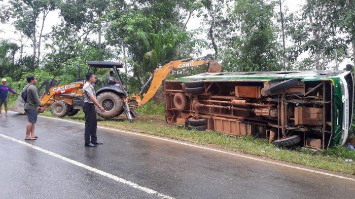 Penumpang Korban Laka Bus Maut di Tayap Merupakan Calon Karyawan PT Limpah