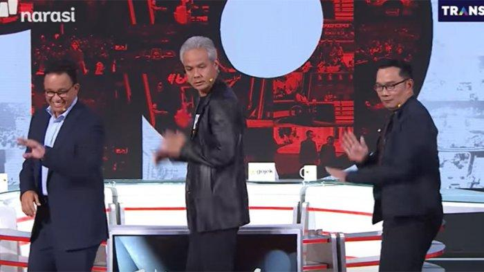 Elektabilitas Prabowo, Anies dan Sandiaga Uno Melorot, Ganjar Pranowo dan Ridwan Kamil Menjulang