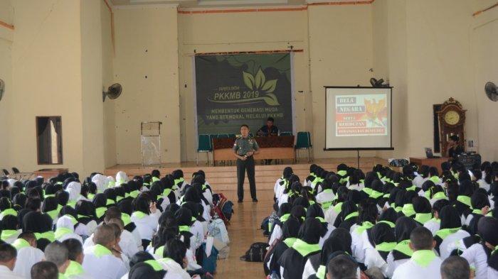 Kodam XII Tanjungpura Berikan Materi Bela Negara ke Mahasiswa Baru Untan