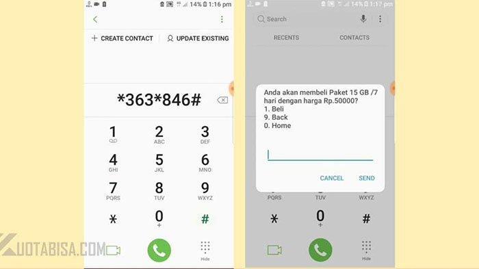 Cara Akses Kode Dial Indosat Xl Telkomsel Murah Nikmati Kuota Internet Murah Tribun Pontianak