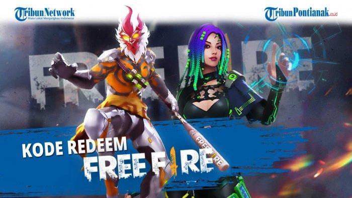 KODE REDEEM FF Free Fire Terbaru Hari Ini Senin 8 Februari 2021 Klaim Kode Redeem FF dari Garena
