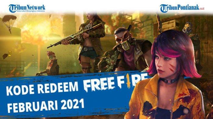 Kode Redeem FF 20 Februari 2021, Tukarkan Kode Redeem FF Bulan Februari 2021 Terbaru dari FF Garena
