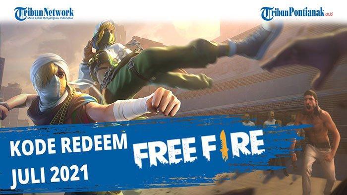 Kode Redeem FF 8 Juli 2021 Redeem FF Garena Reward Hari Ini