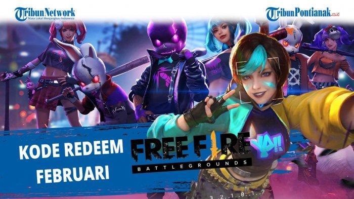 KLAIM Kode Redeem FF Hari Ini 10 Feb 2021 Buruan Tukar Kode Redeem FF Rebut Reward dari Garena