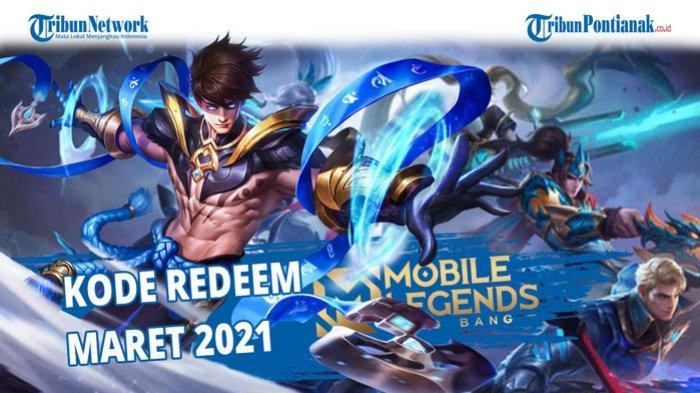 Kode Redeem ML Terbaru 8 Maret 2021, Tukarkan Kode Redeem Mobile Legends Bulan Maret 2021