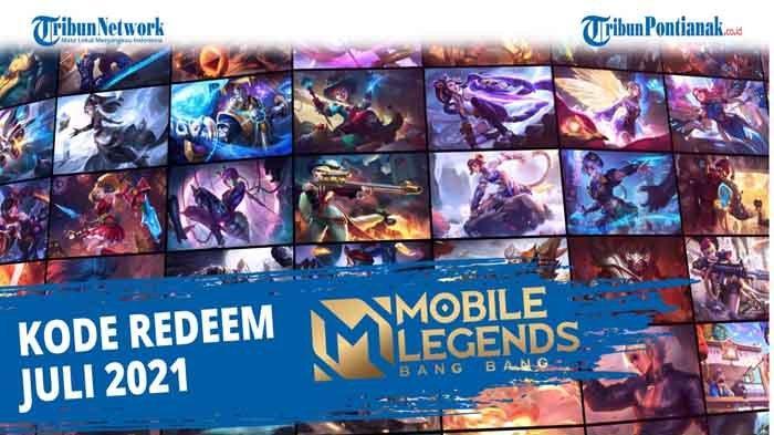Kode Redeem Mobile Legends 16 Juli 2021, Klaim Segera Hadiah Gratis