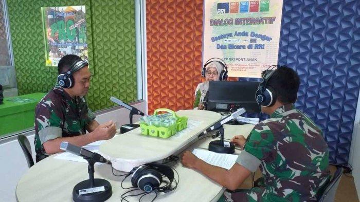 Kodam XII/Tpr Umumkan Pembukaan Pendaftaran Caba PK TNI AD TA 2019 Lewat Radio