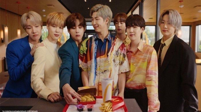 KONTEN Ekslusif BTS Kini Tersedia di Aplikasi McDonalds, Cek Cara Mendapatkan Merchandise BTS x McD