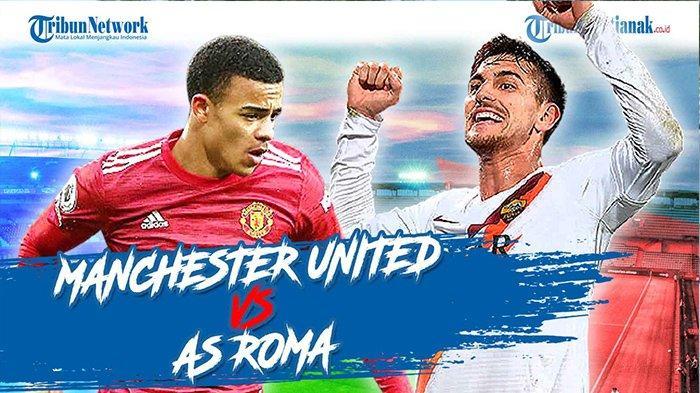STREAMING SCTV Manchester United Vs Roma Nonton Online Gratis Leg 1 Semifinal Liga Eropa MU Vs Roma