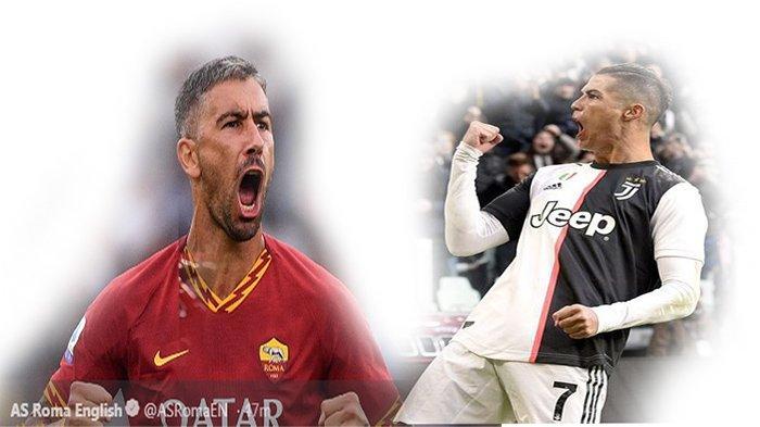 Prediksi AS Roma vs Juventus Liga Italia - Modal Kontrak Kolarov dan Ketajaman Cristiano Ronaldo