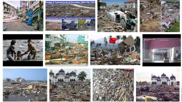 Kolase Tsunami Aceh 2004