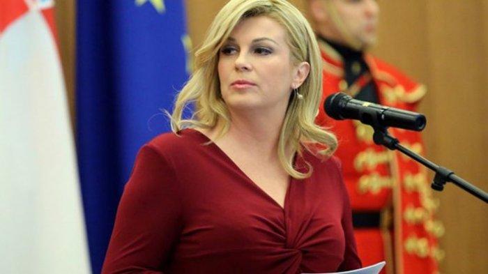 Potret Presiden Cantik Kroasia yang Curi Perhatian di Piala Dunia, Sempat Heboh Karena Foto Seksi