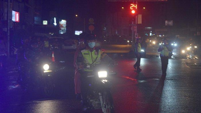 Kapolresta Komarudin Pantau Situasi Malam Perayaan Tahun Baru Imlek di Pontianak