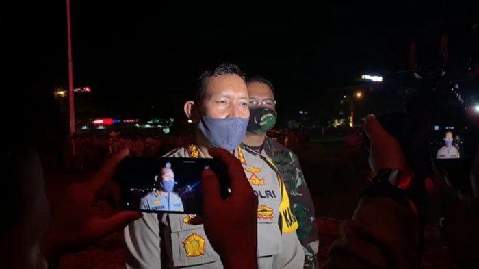 BREAKING NEWS - Polresta Pontianak Mulai Uji Coba Berlakukan Jam Malam di Kota Pontianak Kalbar